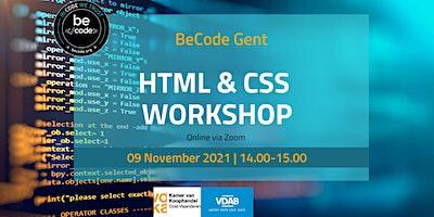BeCode Gent – HTML + CSS Workshop