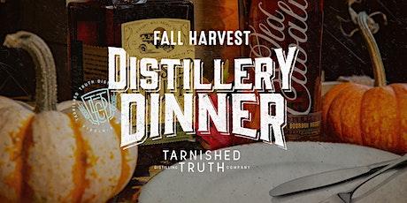 Fall Harvest Distillery Dinner tickets
