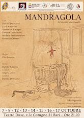 MANDRAGOLA di Niccolo' Machiavelli biglietti