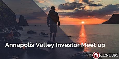 Annapolis Valley Investor Meet up tickets