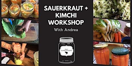 Andrea's Kimchi and Sauerkraut workshop tickets