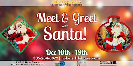 Meet & Greet with Black Santa tickets