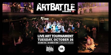 Art Battle Toronto - October 26, 2021 tickets