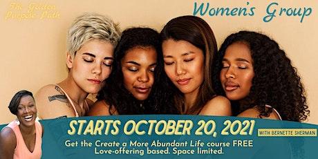 Women's Personal Development Group tickets