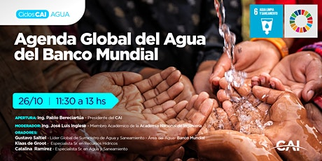 #CicloAgua: Agenda Global del Agua del Banco Mundial entradas