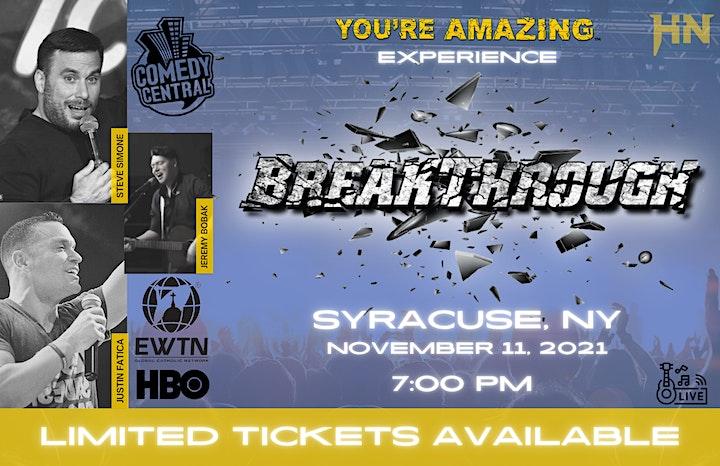 You're Amazing Experience   Syracuse image