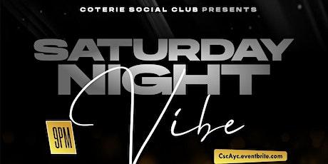 CSC Presents: Saturday Night Vibe! DTLA tickets
