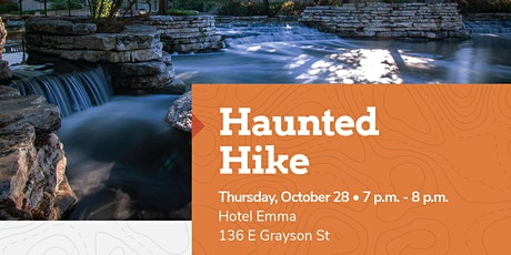 Haunted Hike - Museum Reach With Tour Guide Fred Garza, The Curious Medium tickets