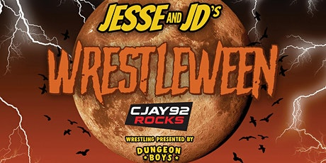 Jesse and JD's Wrestleween tickets