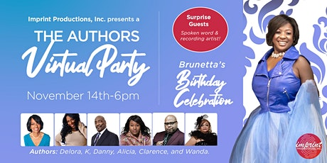 The Authors Virtual Party. tickets