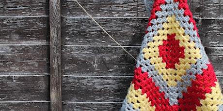 Crochet Basics for Complete Beginners - Granny Square Blanket tickets