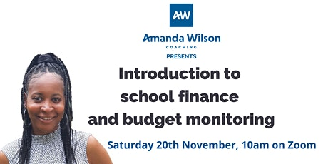Introduction to School Finance  & Budget Monitoring tickets