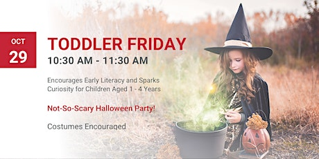 Toddler Friday tickets