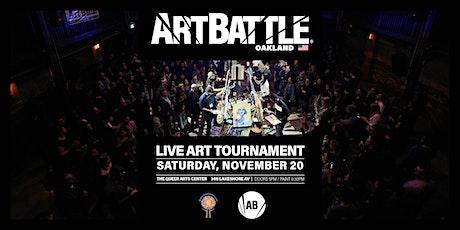 Art Battle Oakland - November 20, 2021 tickets