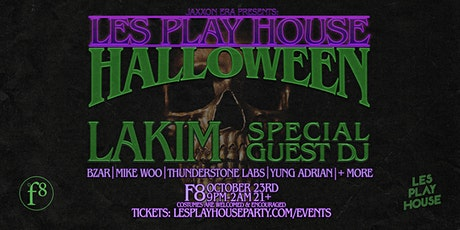 Les Play House Halloween w/ Lakim + Special Guest DJ + More tickets