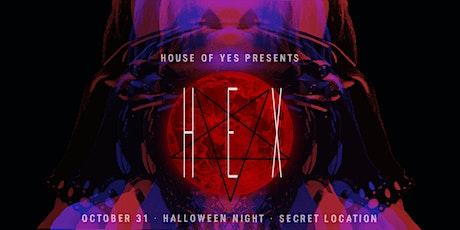 HEX Halloween tickets