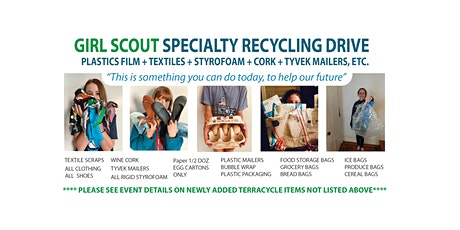 Girl Scout Expanded Specialty Recycling Drive & Afghan Refugee Collection tickets