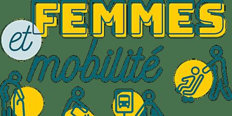 Midi-conférence Femmes et mobilité billets