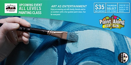 Paint For Fun Class tickets