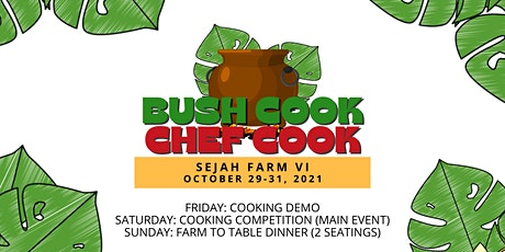 2021 Bush Cook Chef Cook tickets