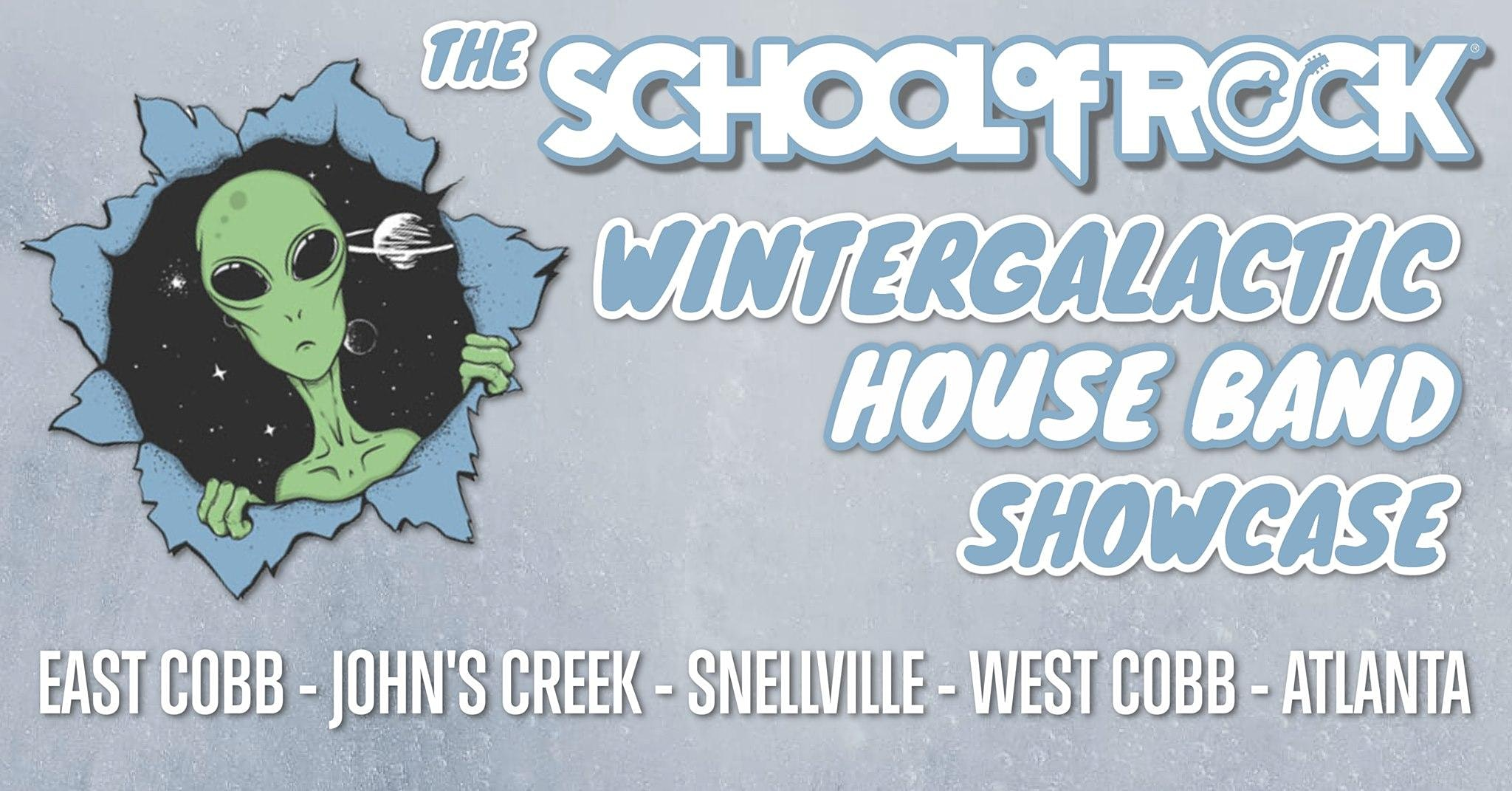 The School of Rock Wintergalactic House Band Showcase