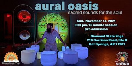 Aural Oasis Sound Bath tickets