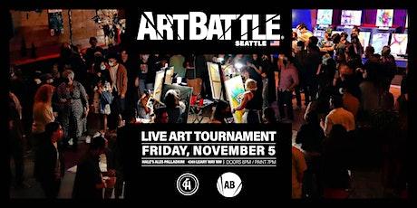 Art Battle Seattle  - November 5, 2021 tickets