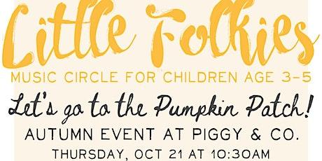 Little Folkies Music Class Pop-Up tickets