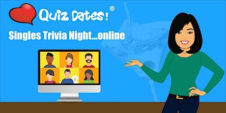 Singles Trivia Night Online! (SF Bay Area) tickets