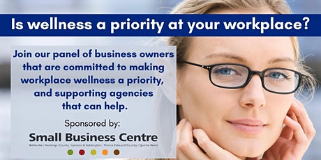 Is wellness in your workplace a priority? tickets