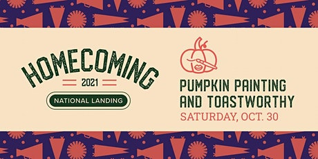 Pumpkin Painting and Toastworthy tickets