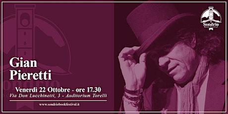 GIAN PIERETTI, Il Bibbio - Sondrio Book Festival biglietti