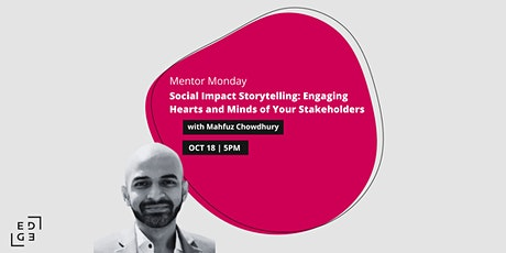 Social Impact Storytelling: Engaging Hearts and Minds of Your Stakeholders tickets