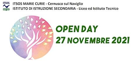 ITSOS Marie Curie - OPEN DAY scuola aperta biglietti