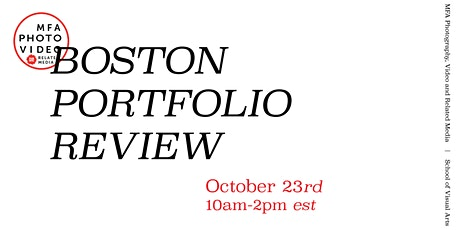 SVA Boston Portfolio Review tickets