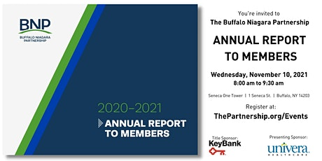 2020-2021 Annual Report to Members tickets