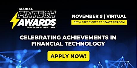 Benzinga Global Fintech Awards 2021 tickets