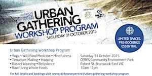 Rainbow Serpent Festival Urban Gathering Workshop Progr...