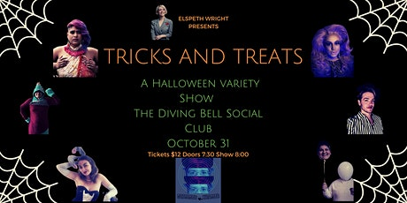 Tricks and Treats: A Halloween Variety Show billets