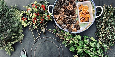 Festive Wreath Making at The Mill tickets