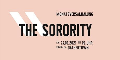 Sorority Monatsversammlung im Oktober Tickets