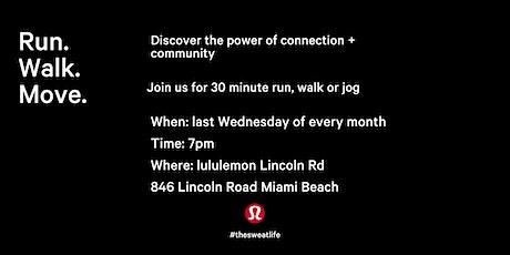 lululemon Lincoln Rd Run Club tickets