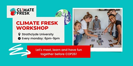 Climate Fresk Workshop in the run up to COP26 ! tickets