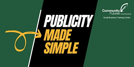 Publicity Made Simple - Press Release tickets