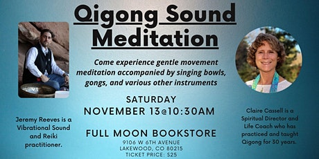 Qigong Sound Meditation tickets