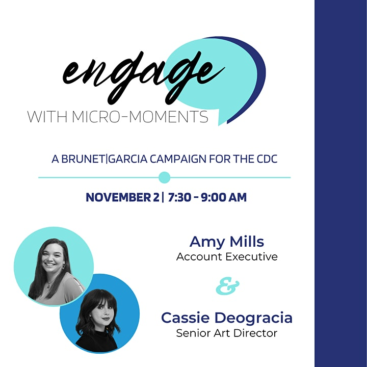Engage with Micro-Moments: A Brunet-Garcia Campaign for the CDC image