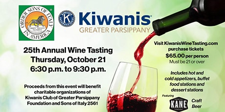Kiwanis Grand Tasting Fundraiser tickets