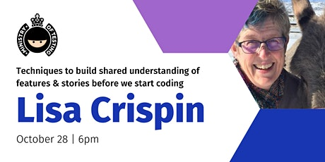 Ministry of Testing - Lisa Crispin, Author and  Agile Tester Extraordinaire tickets