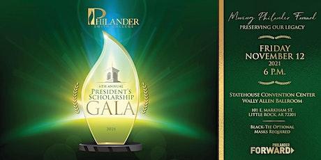 6th Annual President's Scholarship Gala tickets
