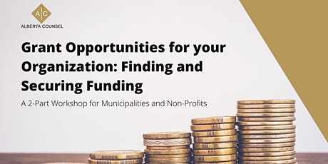 Introduction to Grant Opportunities: Finding and Securing Funding tickets